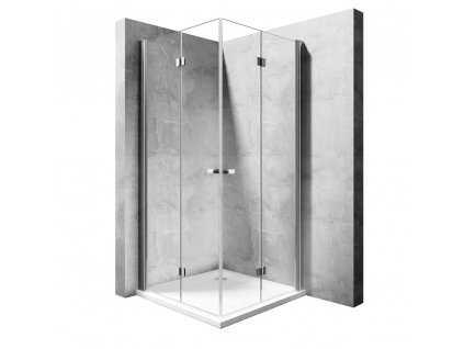 Kabina sprchová DOUBLE MY SPACE 100 N  Varianta produktu - Dveře: 80