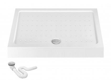 Vanička sprchová akrylová REA CALISTO 80 x 120