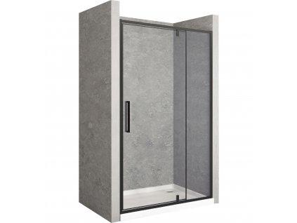 Dveře sprchové výklopné RAPID SWING 140