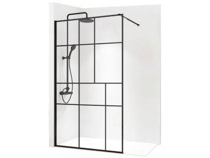 Stěna sprchová REA BLER-2 80