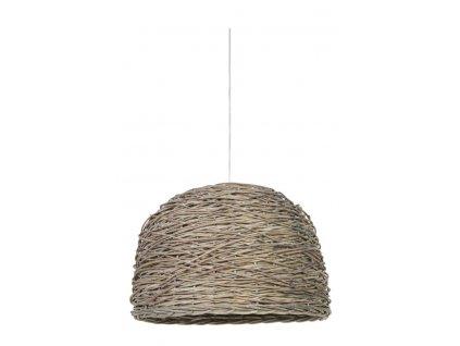 Lampa závěsná Rotan tkaná přírodní