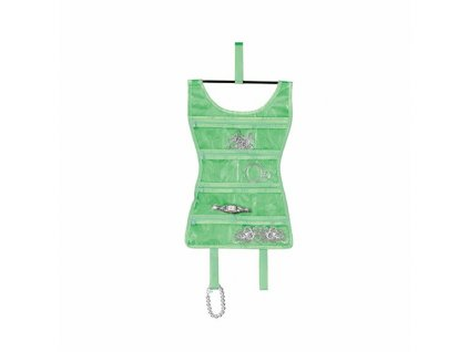 Organizer šperků Sukénka Mini zelený