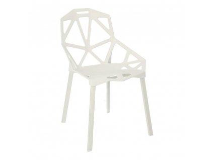 Židle Gap PP bílá Simplet