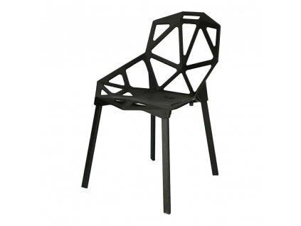 Židle Gap PP černá Simplet
