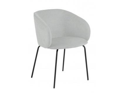 Židle Hven 75 Carver šedá