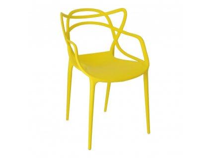 Židle Lexi žlutá insp. Master chair