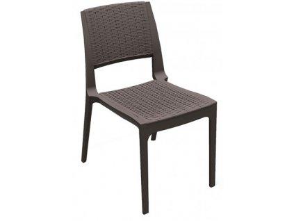 Židle Modena čokoládová