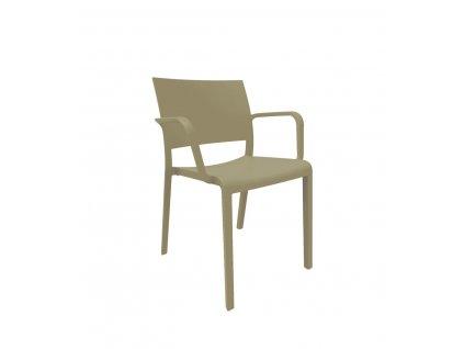Židle New Fiona čokoládová
