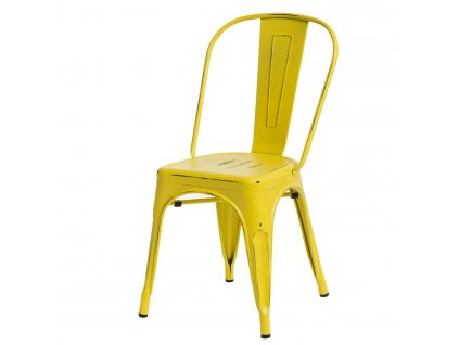 Židle Paris Antique žlutá