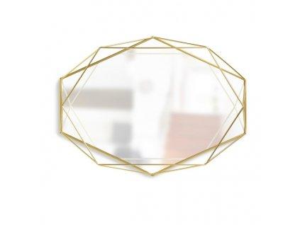 Zrcadlo Prisma zlaté