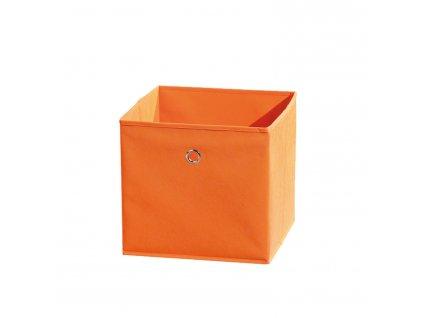 WINNY textilní box, oranžový