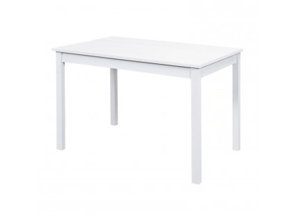 Jídelní stůl 8848B bílý lak