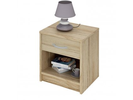Noční stolek 163757 dub