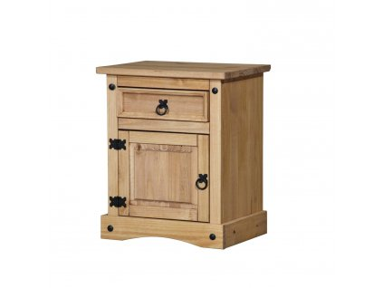 Noční stolek CORONA vosk 16345