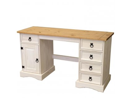 Psací stůl CORONA bílý vosk 16334B