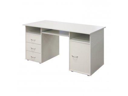 Stůl na počítač 194 bílý