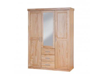 CELSO šatní skříň se zrcadlem