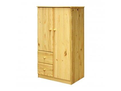 Prádelník 2 dveře + 2 zásuvky