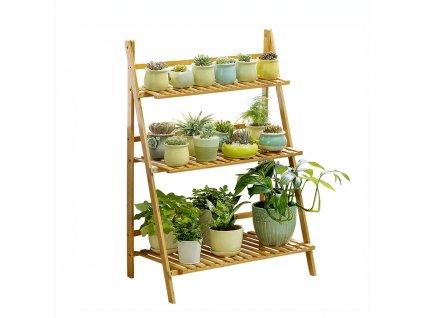 Regál bambus, Nepel TYP 1 + dárek