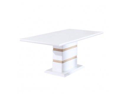 Jídelní stůl, bílá HG, MADOS
