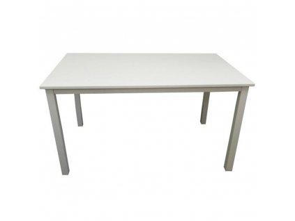 Jídelní stůl, bílá, 110 cm, ASTRO