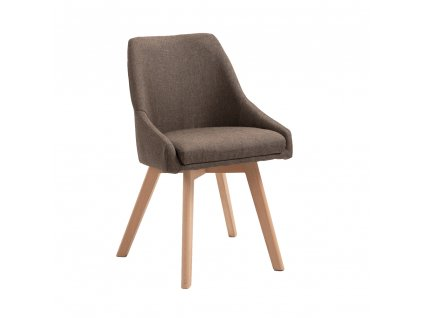 Jídelní židle, hněda/buk, TEZA