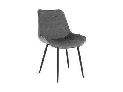Židle, šedá / černá, SARIN