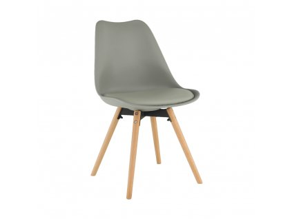 Židle, světlešedá / buk, Semer NEW