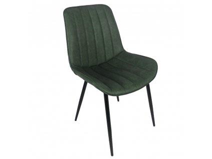 Židle, zelená / černá, Hazal