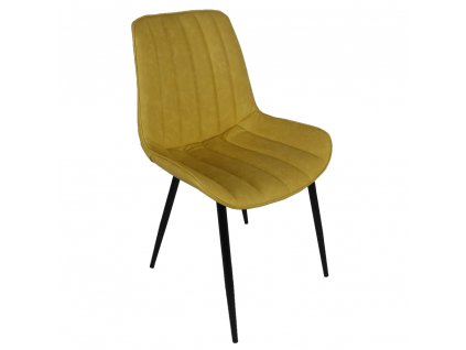 Židle, žlutá / černá, Hazal