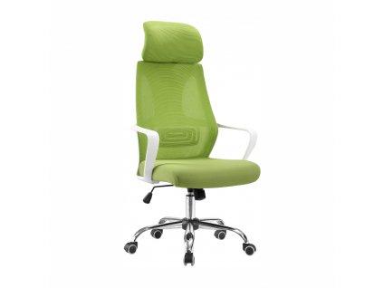 Kancelářské křeslo, zelená / bílá, TAXIS