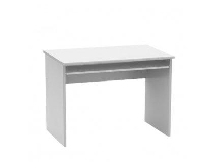 Psací stůl, bílá, JOHAN NEW 02