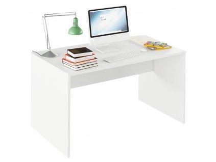Psací stůl, bílá, RIOMA TYP 11