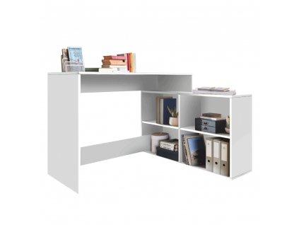 Univerzální PC stolek, bílá, KORNER NEW