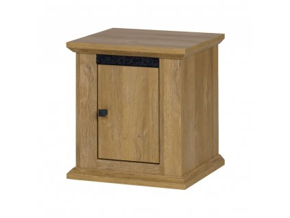 Noční stolek MZ19, dub grand, LEON