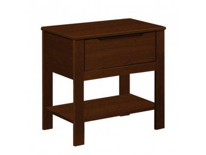 Noční stolek, ořech, BEROTO