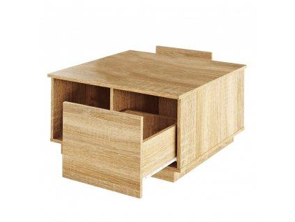 Konferenční stolek, dub sonoma, DALAN