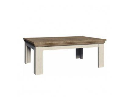 Konferenční stolek, sosna skandinávská / dub divoký, ROYAL LN2
