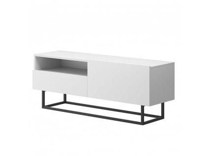 RTV stolek bez podstavy, bílá, SPRING ERTVSZ120