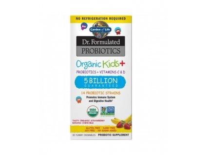159293 dr formulated organicka probiotika pro deti 5 miliard cfu s prichuti organicke jahody a banan