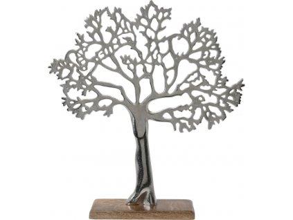 Dekorace Tree Gondor stříbrná L