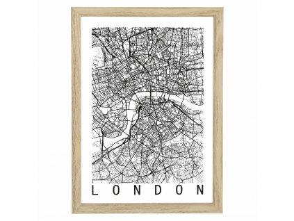Obrázek Mapa Londýna