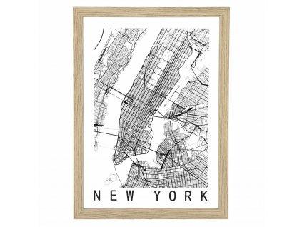 Obrázek Mapa New York