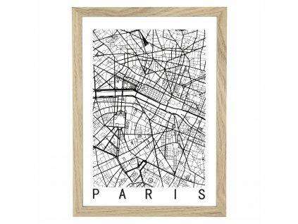 Obrázek Mapa Paris