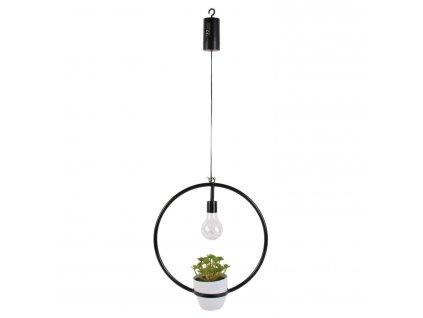 Lampička Led s rostlinou Jante Intesi