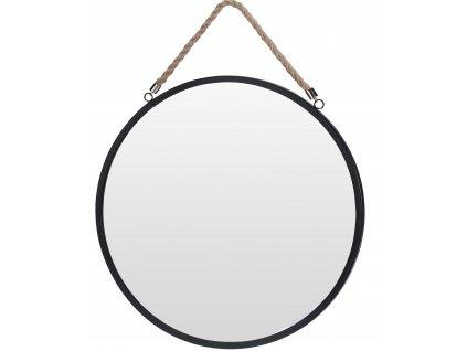 Zrcadlo Marwin černé 41cm