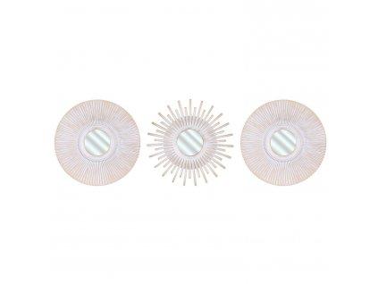 Sada 3 zrcadel Intesi Opio krémové