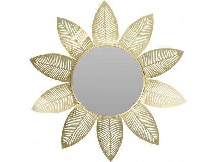 Zrcadlo Intesi Flora zlaté