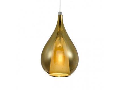 Lampa závěsná Euforia No.4 zlatá