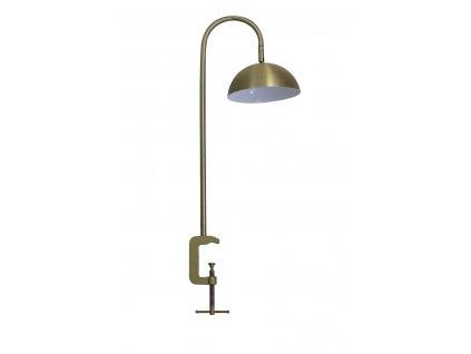 Lampička s klipsem Jupiter zlatá